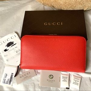 BRAND NEW AUTHENTIC GUCCI LARGE WALLET